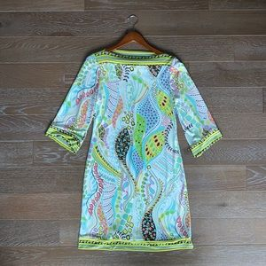 Cocomo Printed 70s Inspired Dress | M